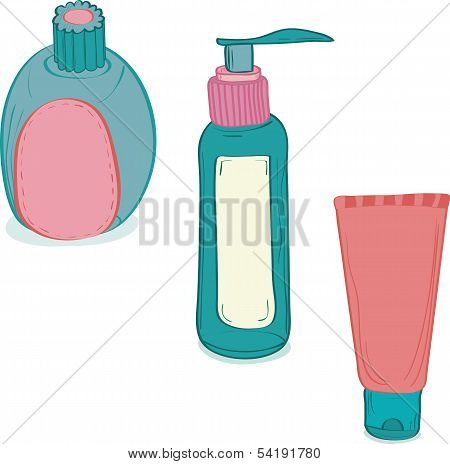 Cosmetic bottles