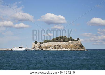Pigeon Island. Kusadasi, Turkey