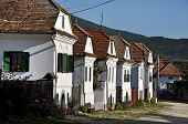 Whitewashed houses in Torocko
