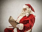 Santa Claus Reading Gift List