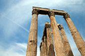 stock photo of olympian  - Temple of Olympian Zeus  - JPG