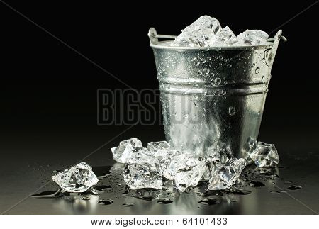 Bucket With Ice