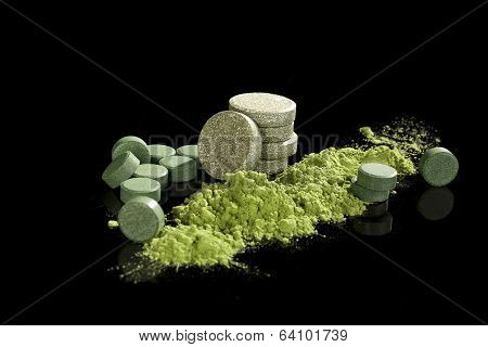Green Dietary Supplements.