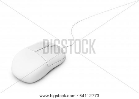 Simple Wired Computer Mouse