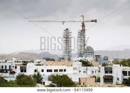 Contruction Mosque