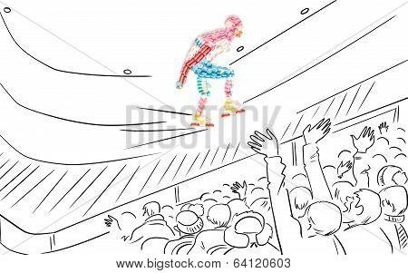 Speed Skater.
