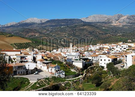 White jtown, Rio Gordo, Spain.