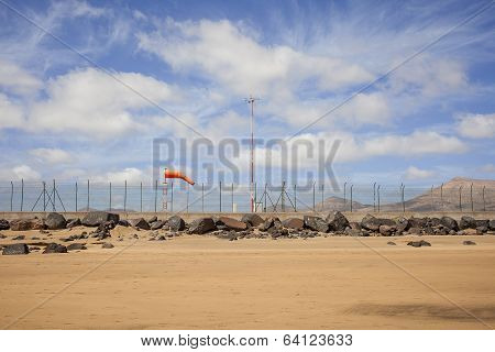 Airport With Windsock