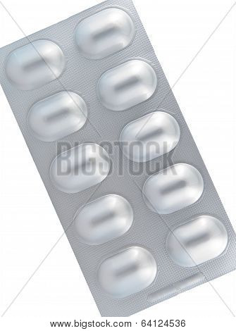 Aluminum Of Blister Pack