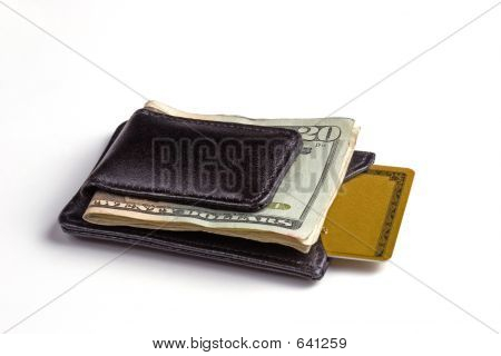 Money Clip & Credit Card