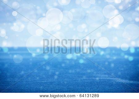 Open Sea, Bokeh