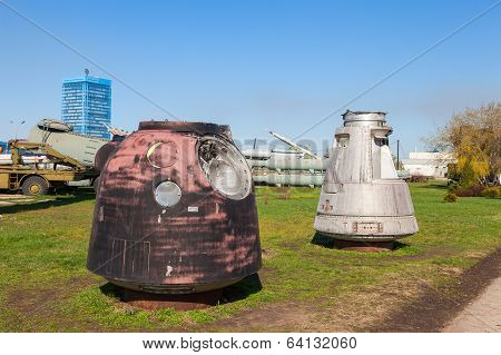 Togliatti, Russia - May 2, 2013: Lander Spacecraft