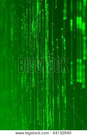 High tech green light effect background