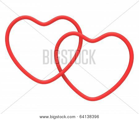 Ring Hearts Mean Marriage Proposal Or Romanticism
