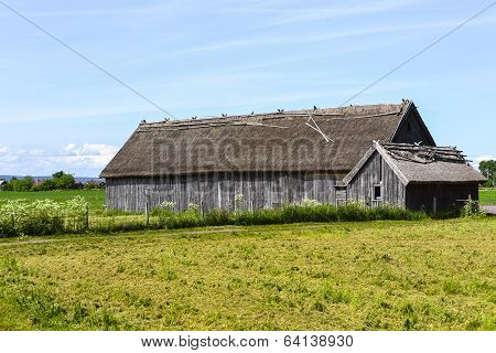 Old farm in Visingso in Sweden