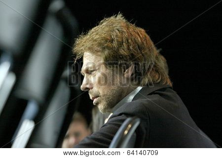 APRIL 19-ANAHEIM, CA:  Jerry Bruckheimer participates in a panel discussion for