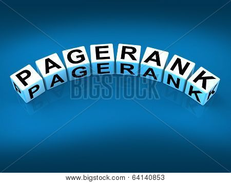 Pagerank Blocks Refer To Page Ranking Optimization