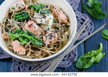 Chinese soba noodles