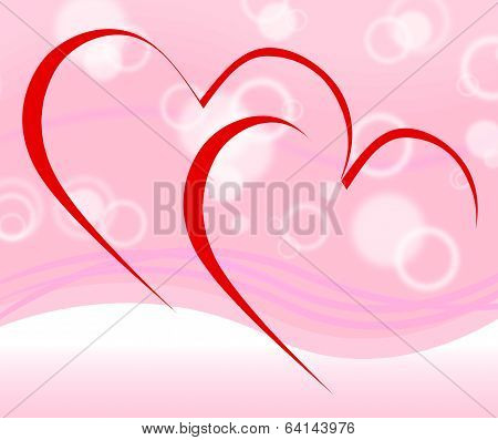 Intertwined Hearts Mean Dating Proposal And Engagement