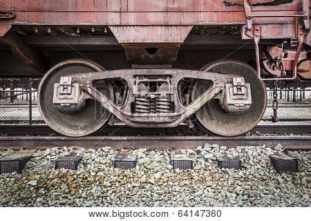 Abandonded Rail Yard - Details