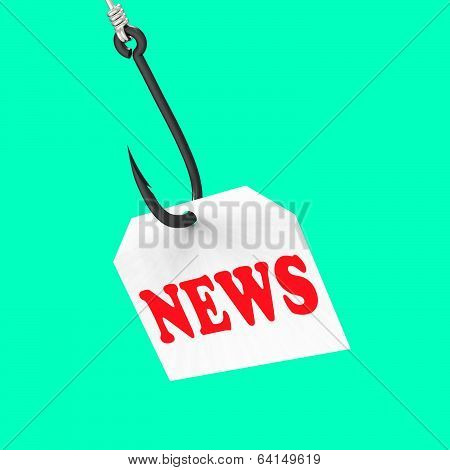 News On Hook Shows Journalism Or Breaking News