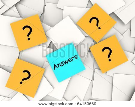 Questions Answers Notes Show Asking And Finding Out