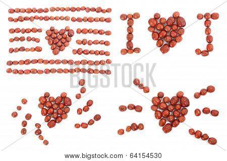 Jujube Heart-shaped