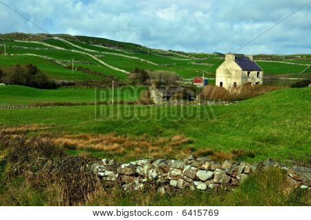 Capture Of A Rural Farm House In Ireland