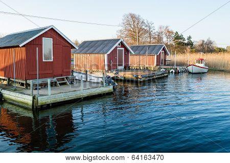 Three Boathouses