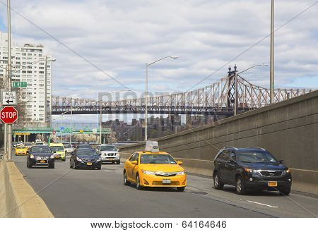 FDR drive in midtown Manhattan