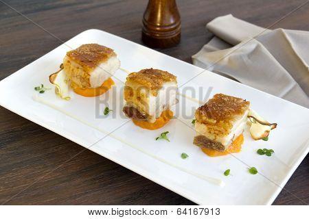 Roasted Pork Belly Cubes