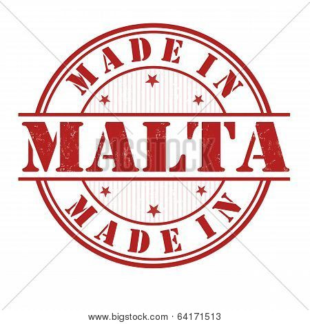 Made In Malta Stamp