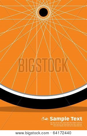 Bike Poster Wheel
