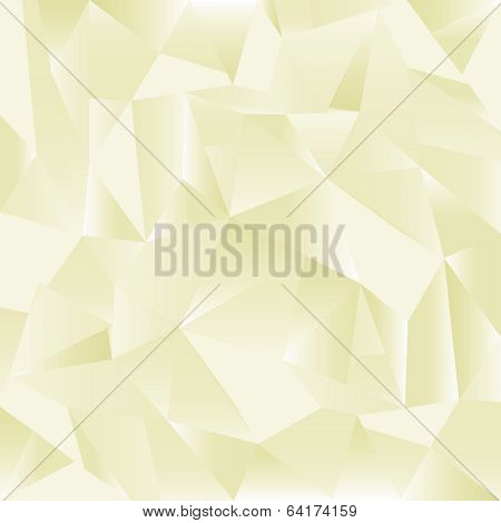 yellow paper creased pattern eps10