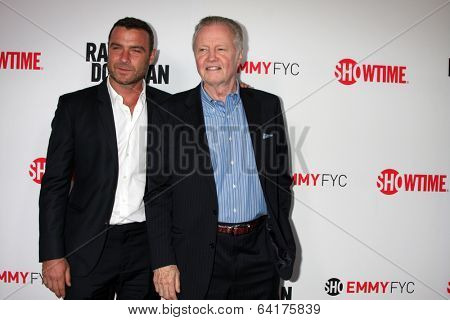 LOS ANGELES - APR 28:  Liev Schreiber, Jon Voight at the