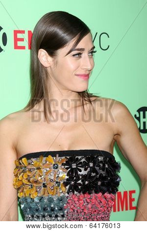 LOS ANGELES - APR 29:  Lizzy Caplan at the