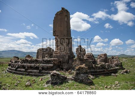 church ruins, Ani, Turkey