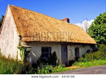 Rural Cottage In West Of Ireland Farm