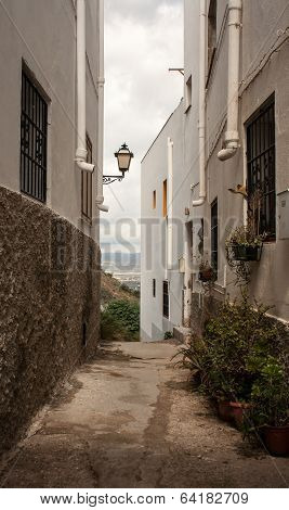 small alleyway
