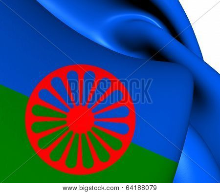 Flag Of Romani People
