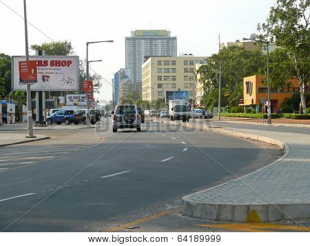 Maputo, Mozambique - December 11, 2008: In The Capital Of Mozambique.