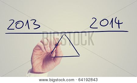 Man Balancing 2013 And 2014