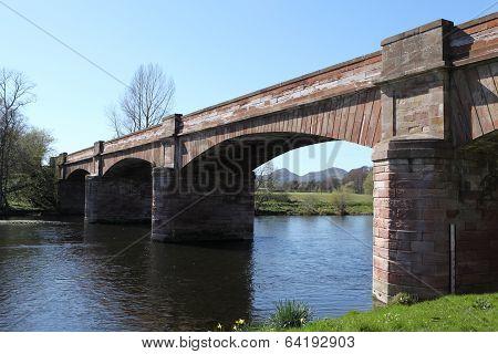 Mertoun Bridge, Scotland
