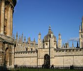All Souls College Oxford Univeristy (high Resolution - Great For Print) poster