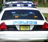 Постер, плакат: Полицейский автомобиль