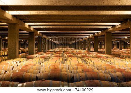 La Rioja Winery Oak Reserva Barrels