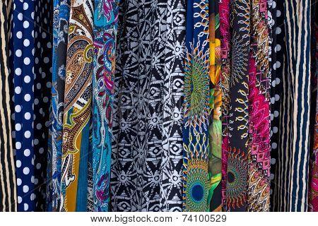 Multicolored Fabrics