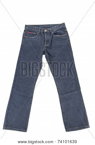 New blue jeans.