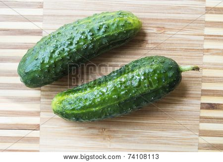 Two Cucumbers
