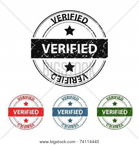 Verified Grunge Stamp